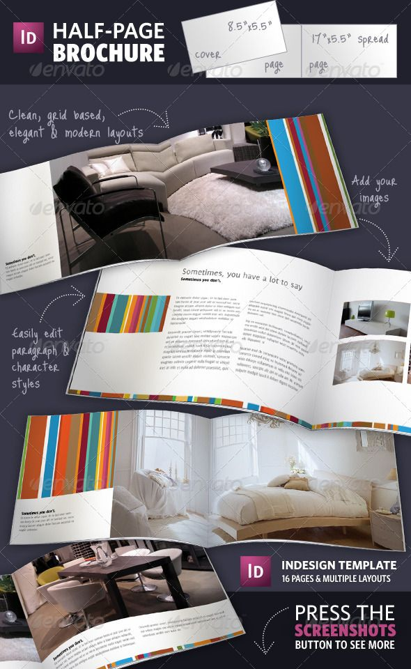 102 best images about Print Templates – Half Page Flyer Template