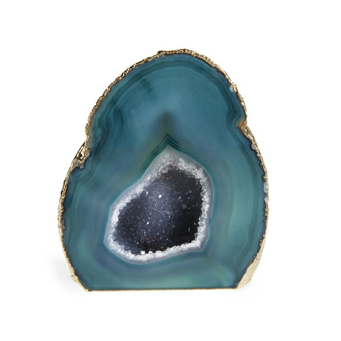 Green Agate GeodeGreen Agate Geode http://www.aerin.com/Green-Agate-Geode/21100051,default,pd.html