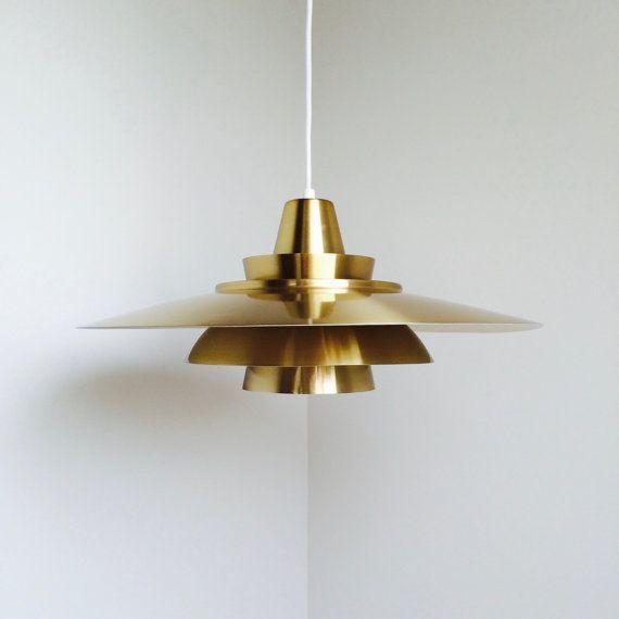 Super Light  Danish Vintage Design  1970s by iVintageScandinavia