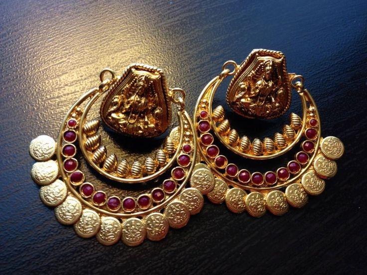 Chandbali + temple Jewellery Combination?