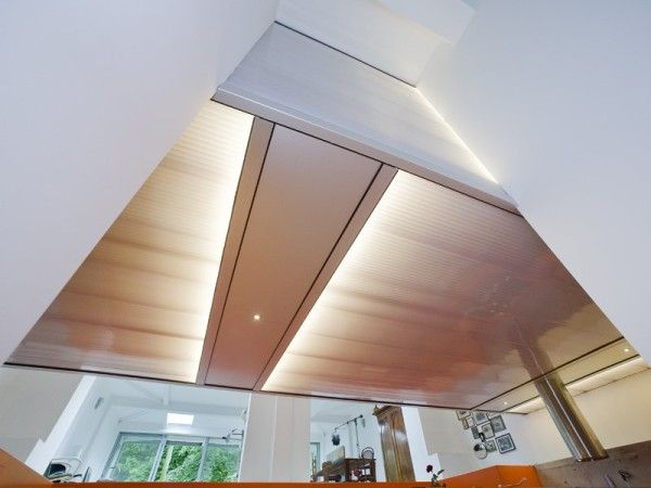 Wooden Ceiling Idea from Best Luxury House Design Ideas with Greeen Home Innovation in Rotterdam 600x450 Best Luxury House Design Ideas with Green Home Innovation in Rotterdam