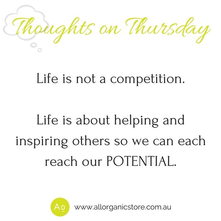 Who can you help and inspire today? ❤️ Tune in every Thursday morning for Thoughts on Thursday. A great way to start your day.