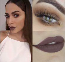 Tutorial – maquiagem BARATINHA SÓ COM 1 SOMBRA inspirada na Anitta