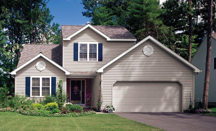 17 best images about exterior on pinterest beautiful for Vinyl siding and shutter color combinations