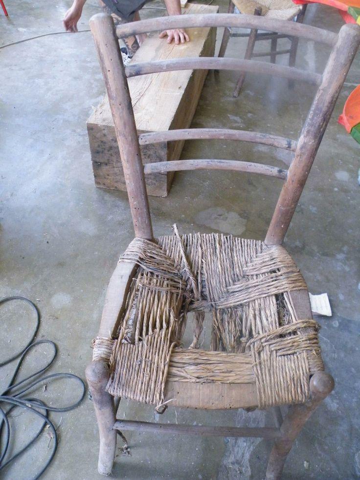 sedie tarlate recuperate