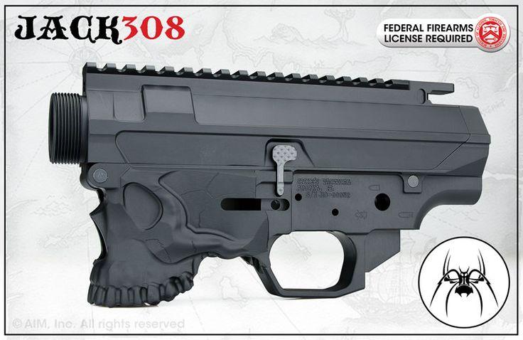 Spikes Tactical The Jack .308/7.62x51 Billet Lower & Upper Receiver Set