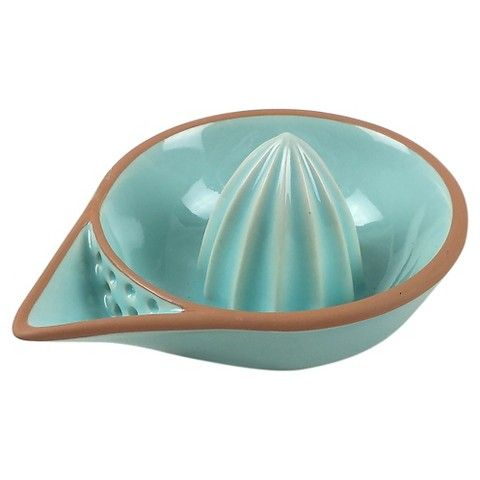 Threshold Stoneware Hand Juicer - Green