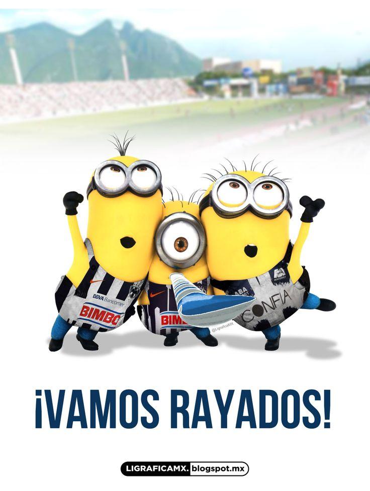 #LigraficaMX #Soccer #Minions #Rayados @Rayados de Monterrey Oficial