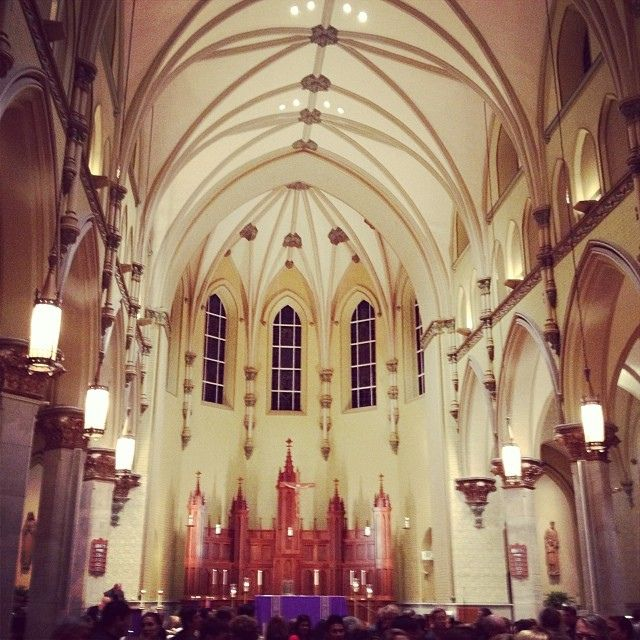 Church of the Immaculate Conception in Towson, Maryland.