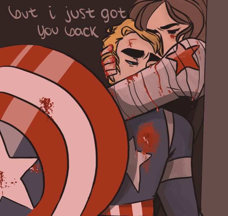 And it was just as heart breaking when Natasha said that about Bucky in the comics, when she thought he was dead! :(  Bucky is a character that get all the heart breaking scenes in the comics and the movies! <3  Can he finally be happy yet?!
