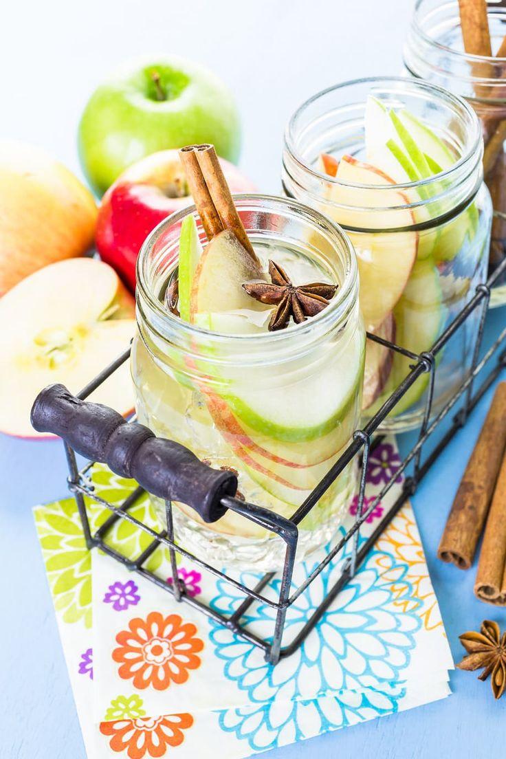 6 Ricette per Acqua Aromatizzata alla Frutta Mela e Frutto Stella