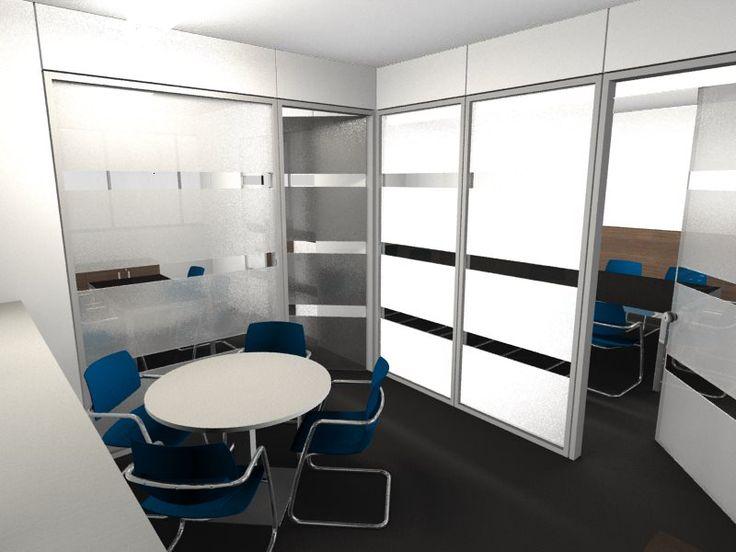 Little Meeting Room Idea - Modern Interior Design - Restyling / Idea Piccola Sala Riunioni - Arredamento Interni Moderno - Rinnovo