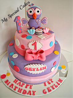 Giggle & Hoot Cake For Girls