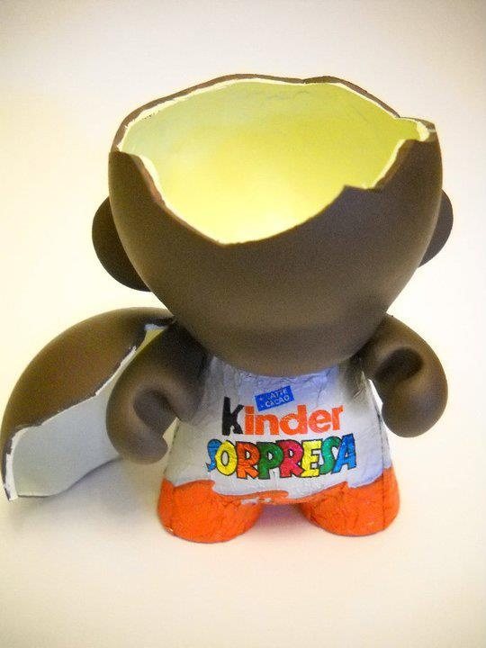 What a surprising hero!  by Kinder Surprise