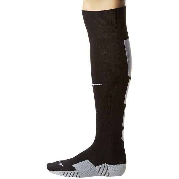 Nike Stadium Soccer Over The Calf Knee High Socks Shoes, Black ($9.99) ❤ liked on Polyvore featuring shoes, black, socks, nike, kohl shoes, black shoes, nike shoes and nike footwear