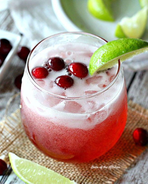 cranberry-limeade-spritzer - Non #alcoholic #drinks - #Ezyshine