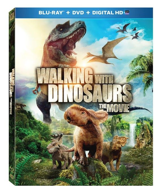 Walking With Dinosaurs The Movie Blu-ray/DVD Giveaway (Ends 3/20/14)