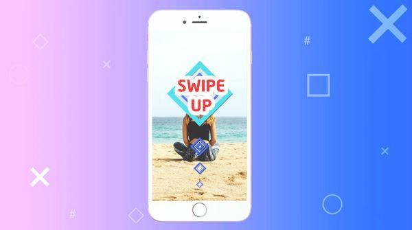 Cara Membuat Swipe Up Di Instagram Story Android Instagram Android Membaca
