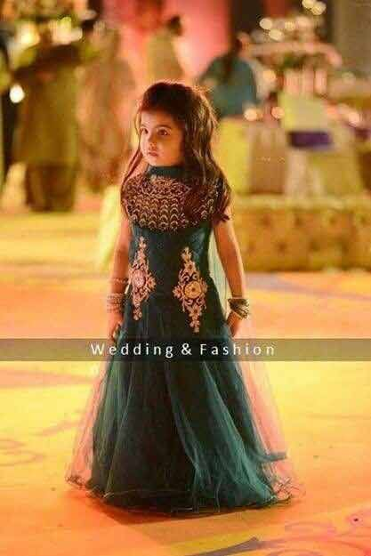 545a84eea2255 Baby Girls Wedding Frocks In Pakistan For 2019 in 2019 | Baby dress ...