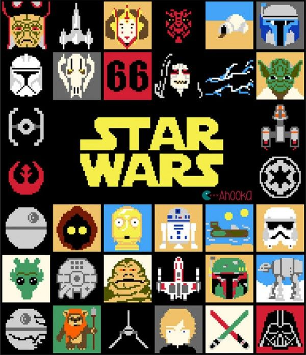 Free Crochet Star Wars Blanket Pattern - definitely going on my 'To Make' list!