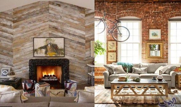 ورق الجدران في غرف الجلوس يمنح المنزل ديكور ا مميز ا وجميل ا Home Decor Home Decor