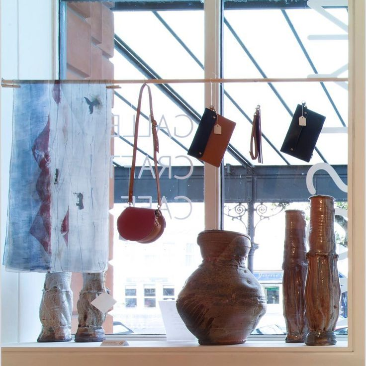 Daubs & Dashes Vik Scarf @mostyngallery showcase among other beautiful autumnal red finds. Photo credit to Dewi Lloyd. #autumnred #christmasshowcase #mostyngallery #daubsanddashes #christmasshopping #art #gallery #wales #artinwales #womensaccessory #madeinbritain #windowdisplay