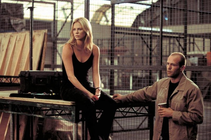 Jason Stathem & Charlize Theron (Handsome Rob, Stella Bridger)~so wanted the Brazilian Job to be released...:(  still hoping...-courtesy The Italian Job