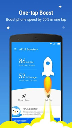 (adsbygoogle = window.adsbygoogle || []).push();   	APUS Booster+ (cache clear) v2.2.3 	Requirements: 4.0.3+ 	Overview: APUS Booster+ is a small but effective utility to speed up your phone and optimize performance. This speed booster make full use of the accessibility service to...