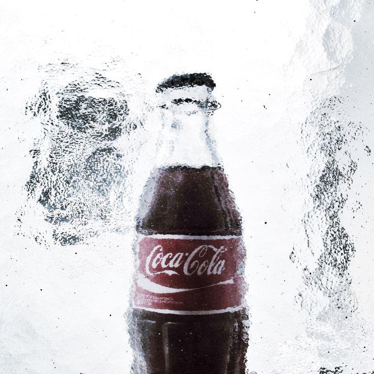 frozen Coca Cola
