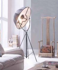 Lámpara de Estilo Industrial de Pie : Modelo BALTIMORE
