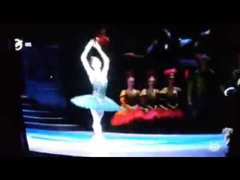 Swan lake (Hung.Nat.Ballet) - Odile dancing