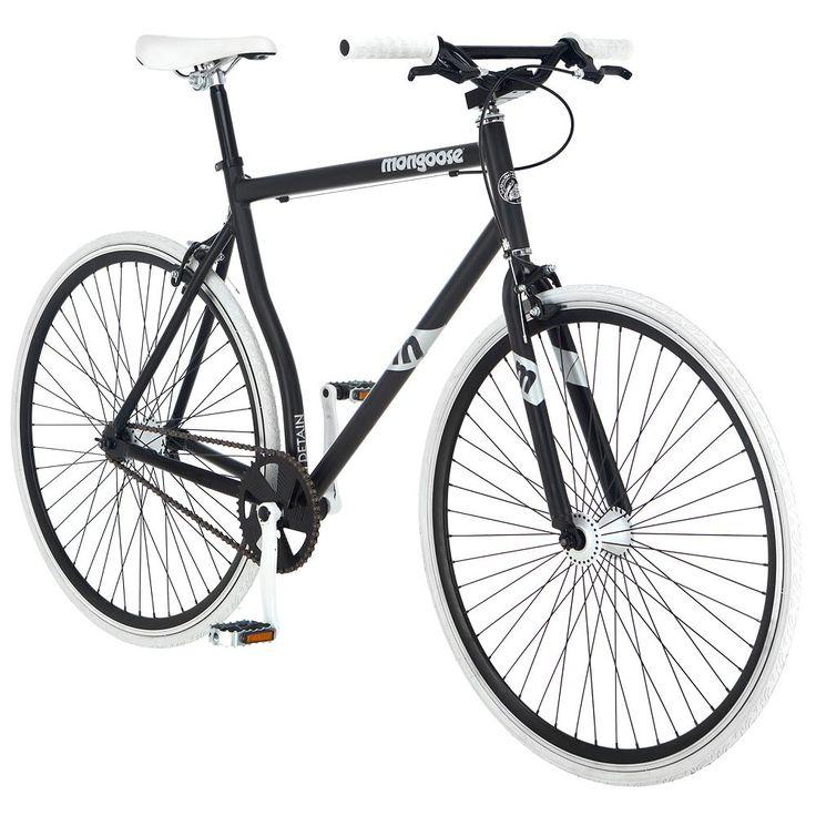Men's Mongoose Detain 700c Wheel Fixie Bike, Multicolor