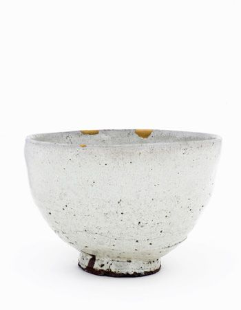 Bowl, Takatori ware 1600-1630 Momoyama or Edo period Brown stoneware with rice-straw ash glaze H: 16.9 W: 24.2 cm Japan