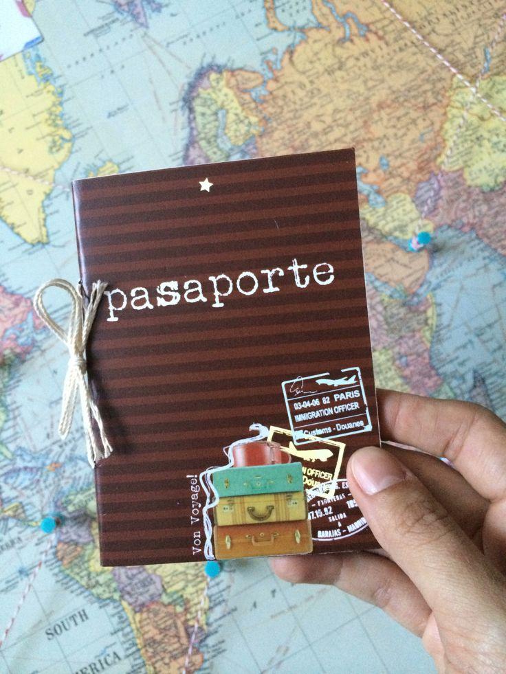 Tarjetas o regalos- Pasaportes especiales