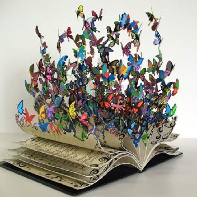 Books feed your imagination