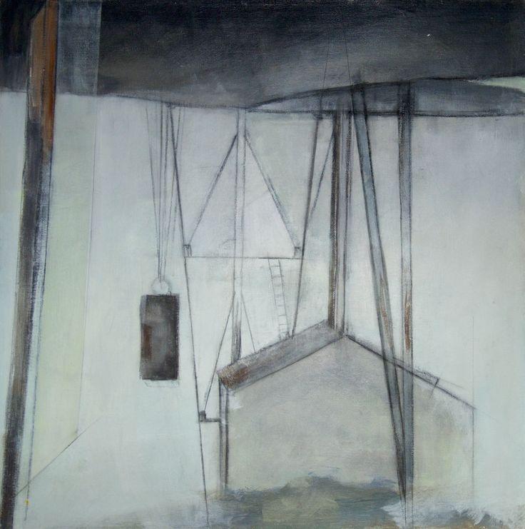 Mette Nissen Johansen Svalbard 60x60 cm