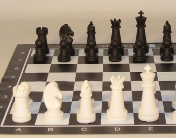Ships FREE Ground Cont U.S. Serious tournament chess player? Own this Magnus Carlsen tournament chess set with triple weighted chessmen, hard plastic tube with a shoulder strap and a 2 oz King! #tournamentchesssets