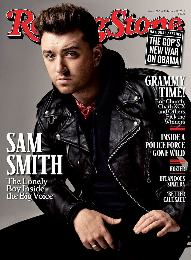 Sam Smith on the February 12, 2015 cover