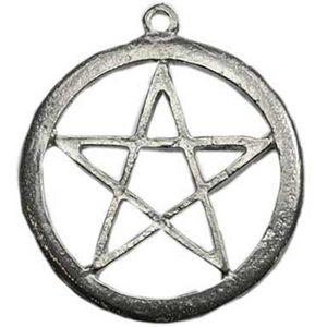23 best jewelry necklaces pentacles pentagrams images on pewter pentagram pendant fandeluxe Images