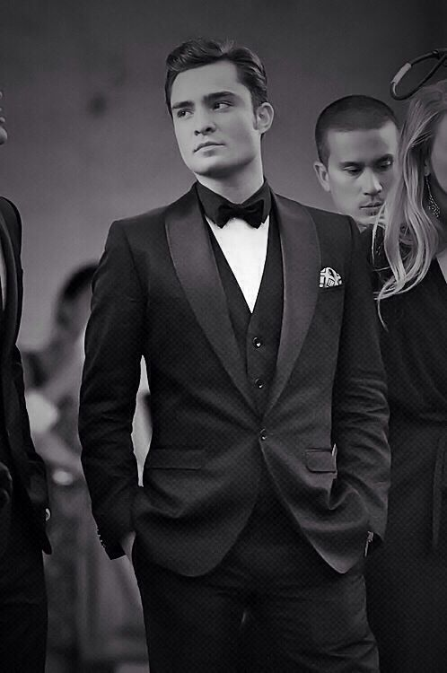 Ed Westwick aka Chuck Bass. I want this for Christmas