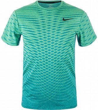 Универсальная мужская футболка для тренировок с коротким рукавом Nike Ultimate Dry не стесняет движений, отводит влагу от кожи и защищает от перегрева благодаря специальной ткани. ОТВЕДЕНИЕ ВЛАГИ Ткань Nike Dri-FIT эффективно отводит влагу от тела, сохраняя кожу сухой продолжительное время. ДОПОЛНИТЕЛЬНАЯ ВЕНТИЛЯЦИЯ Специальная сетчатая ткань гарантирует оптимальную вентиляцию. КОМФОРТ Вырез горловины обшит изнутри тесьмой, которая предотвращает натирание.