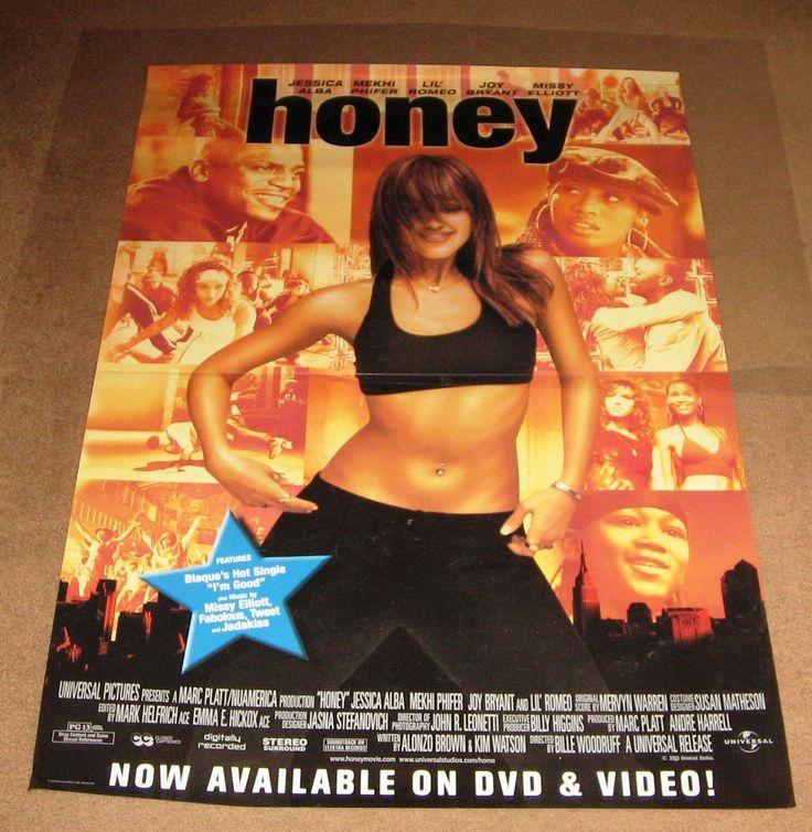 Honey Movie Poster 27x40 Used Ivan 'Flipz' Velez, Sarah Francis, Joy Bryant, Mekhi Phifer, Damien Luvara, Alison Sealy-Smith, Tracy Dawson, Kevin Duhaney, Lonette McKee, David Moscow, Roy T Anderson