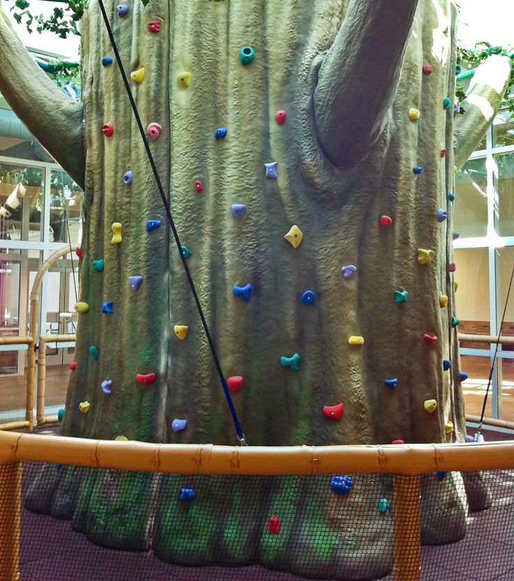 Large themed indoor climbing wall for the YMCA | #Playco