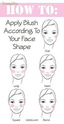 how to blush