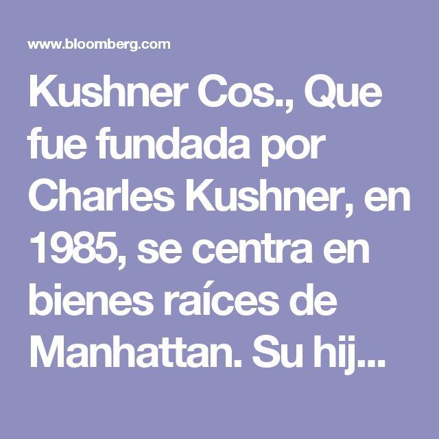 Kushner Cos., Que fue fundada por Charles Kushner, en 1985, se centra en bienes raíces de Manhattan. Su hijo, Jared, está casado con la hija Ivanka Trump y es un asesor del presidente.  Charles Kushner tiene antecedentes penales - en 2005 fue declarado culpable de manipulación de testigos, las contribuciones de campaña ilegales y la evasión de impuestos - que probablemente le impediría ser aprobado como principal propietario de un Grandes Ligas equipo.