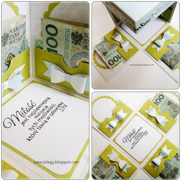 Prosty box na pieniążki Simple caja para las monedas