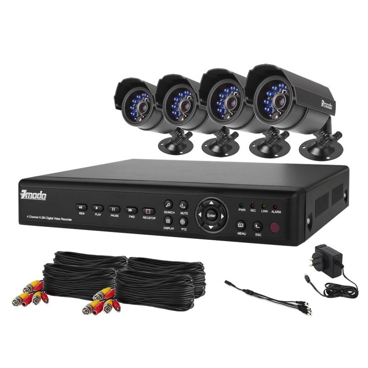 Complete video camera systems, Video Security camera systems Including wireless video cameras and night vision camera systems
