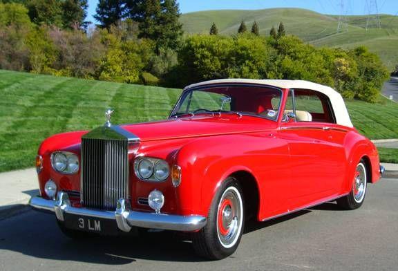 Rolls Royce Silver Cloud Convertible