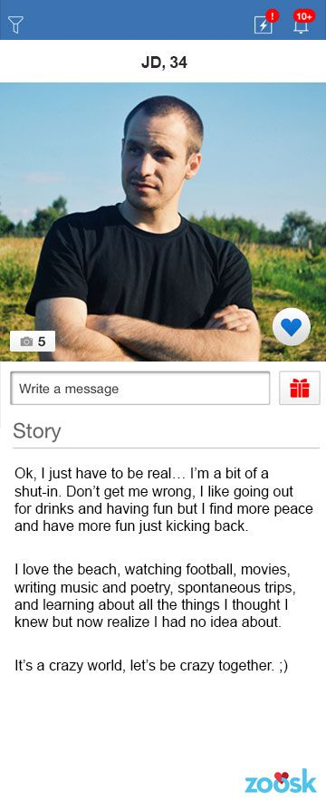 Good dating profiles male