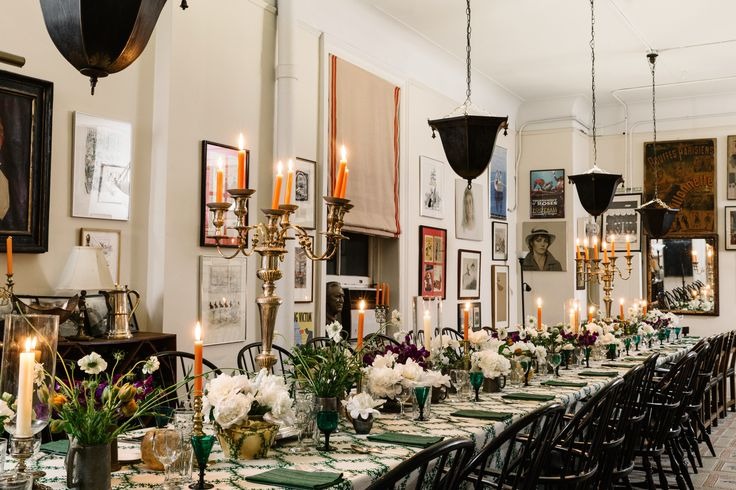Kate Middleton's Favorite Designer Shows AD How to Host a Dinner Party | Architectural Digest